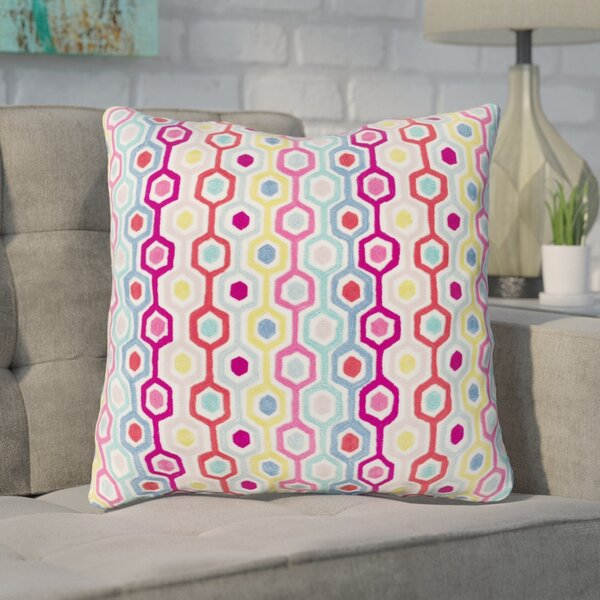 Astrid 100% Cotton Throw Pillow by Ivy Bronx